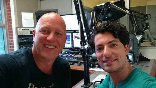 Vince Outlaw and Jonathan Karrant on The New Jazz Thing at San Diego's Jazz 88.3 Monday May 25 2015