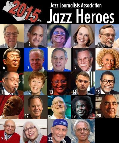 2015 Jazz Journalists Association Jazz Heroes