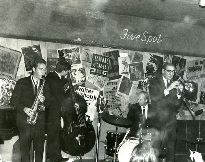 Five Spot Interior - Five Spot After Dark - Jazz Explorations With Ken Poston