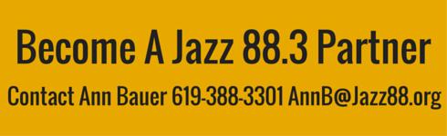 Become A Jazz 88.3 Partner - Underwrite Jazz 88.3