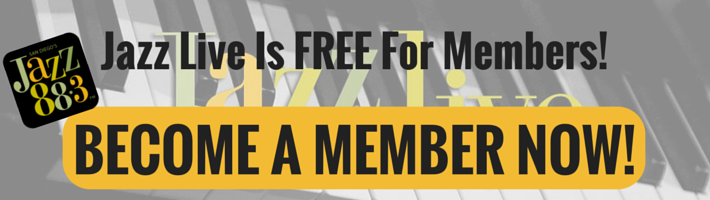 Jazz Live Is FREE For Members! BECOME A JAZZ 88 MEMBER!