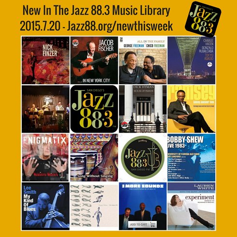 Teagan Taylor Leads An All Star List of New Adds at Jazz 88.3 2015.07.20