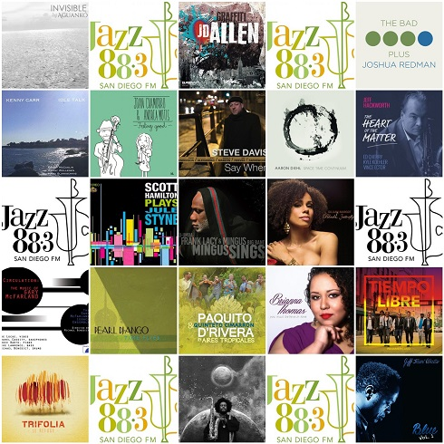 New This Week at San Diego's Jazz 88.3 2015.6.1