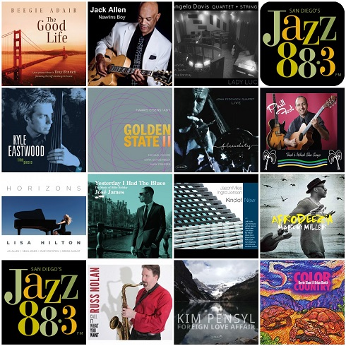 14 New Jazz Albums In The Jazz 88 3 Music Library You Will