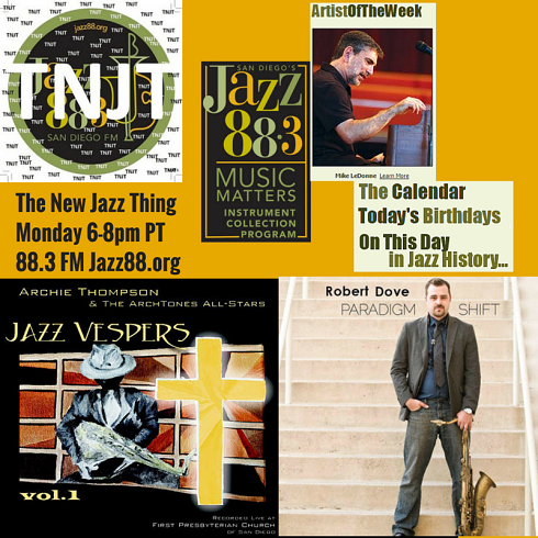 This Is The New Jazz Thing Monday May 11 2015 Jazz Vespers Robert Dove