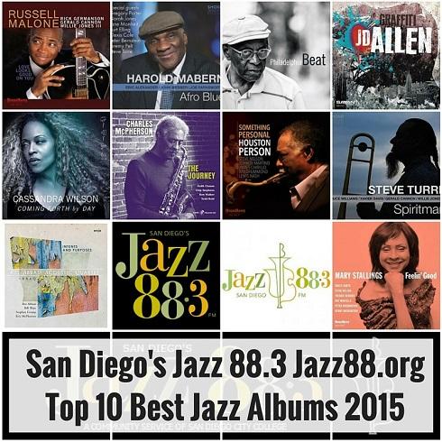 San Diego's Jazz 88.3 Top 10 Best Jazz of 2015