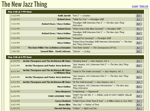 The New Jazz Thing 2015.5.11 - Playlist - Blog Size